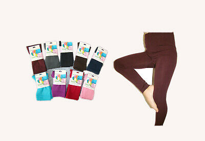 Colorful Kinder THERMO warme Leggings,1-12 Jahre,9 Farben, Baumwolle,Winterhose