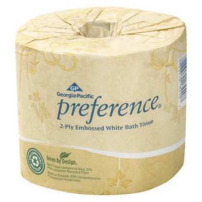 GEORGIA-PACIFIC 18280/01 Toilet Paper, Preference, 2Ply, PK80