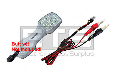 Greenlee Tele-Mate TM500 TM500T CS-03 Butt Set Deluxe Line Cord Bed Of Nails Set