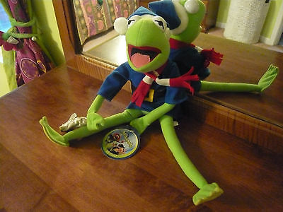 Disney The Muppets Studio Kermit The Frog Stuff Toy Doll New