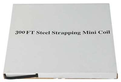 PAC STRAPPING PRODUCTS 3CTU8 Steel Strapping,20 mil,300 ft. L