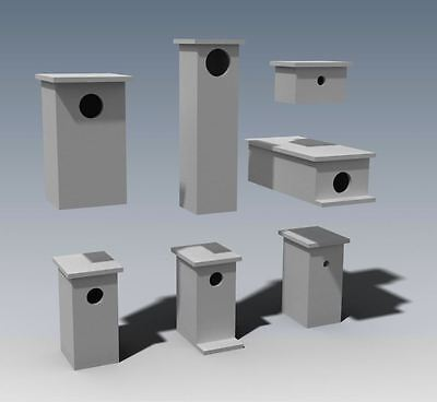 (BUILDING PLANS) for POSSUM BOX - ROSELLA - BIRD BOXES / HOUSE- & MORE - SAVE $$