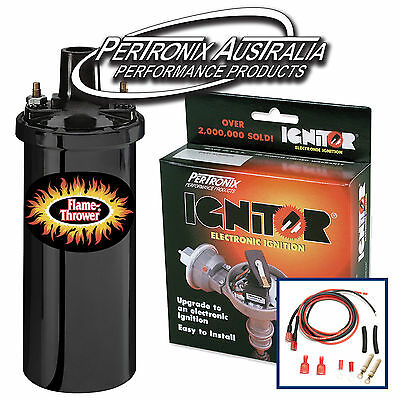 Pertronix Electronic Ignition KIT & COIL PACK: Nissan GQ Patrol TB42 #58725905
