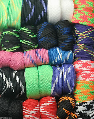 Flat Fat 18mm & 20mm Trainer Skate Snow Boarding Boot Laces