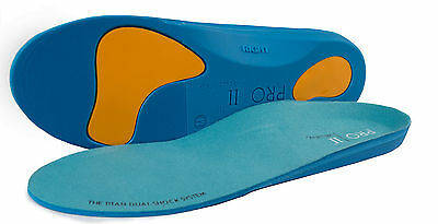 Dual Shock orthotic sports insoles For arch support fallen arches over pronation