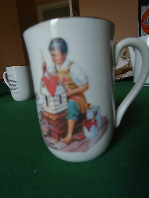 Norman Rockwell Museum 1982 A DOLLHOUSE FOR SIX  coffee tea cup