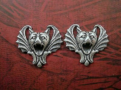 Oxidized Brass Rooster Stampings BORAT3249 2