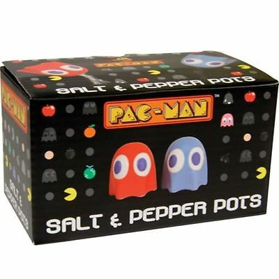 Pac-Man Ghost Salt & Pepper Pots Classic Arcade