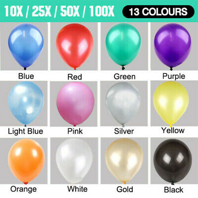 Latex Standard Helium Quality Balloons Party Wedding Air Birthday Decor 13 Color