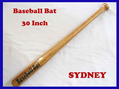 Brand New 30Inch Wooden Baseball Bat