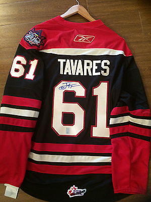 John Tavares Autographed Jersey Xl New With Tags Ohl All Star Game Ny Islanders