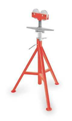 RIDGID 56672 Roller Head Pipe Stand, 1/8 to 12 In.