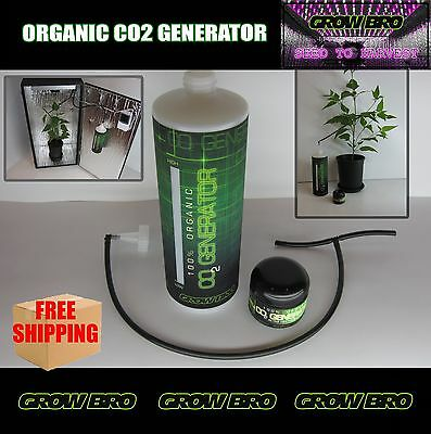 CO2 for AEROPONIC, HYDROPONIC SYSTEMS WITH LED, HPS, CFL GROW LIGHTS