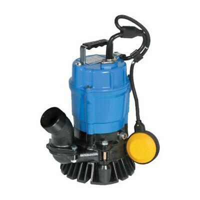 "Tsurumi HSZ2.4S-62 - 53 GPM (2"") Submersible Trash Pump w/ Float Switch"
