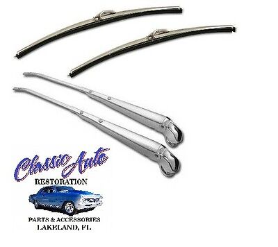 68,69,70,71,72 NOVA WIPER ARM and BLADE ASSYMBLY pair,NEW REPRO