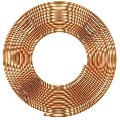 MUELLER INDUSTRIES LSC2020P Type L Copper Tubing, 1/4 ID, 3/8 OD, 20 ft