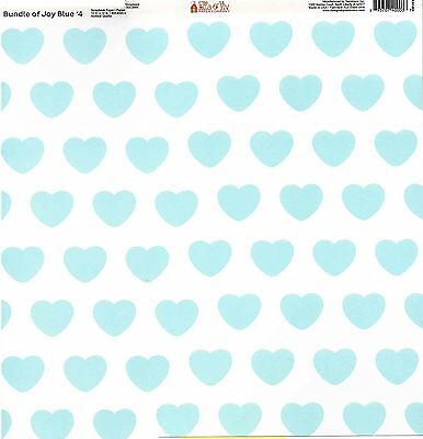 Pastel Hearts Design Personalised Baby Bib