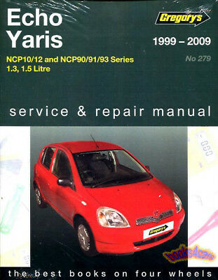toyota echo yaris shop manual service repair book haynes vitz rh picclick com echo show manual pdf free download 2001 toyota echo shop manual