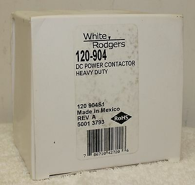 White Rodgers 120-904 120904 24V DC Power Contactor Heavy Duty **NEW IN BOX**