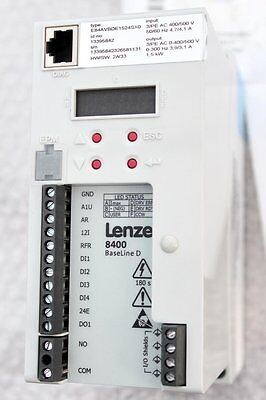 LENZE 1,5 KW L-force Drives 8400 BaseLine D E84AVBDE1524SX0
