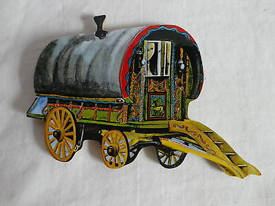 Gypsy / Traveller Caravan Jumbo Size Fridge Magnet.new