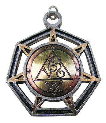 Medieval Magick Sigil Charm Amulet Archangel Michael Aral Angel of Fire Courage