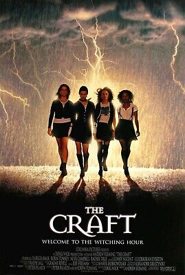 The Craft (1996) Movie Poster - Horror -  Witchcraft - Cult Classic