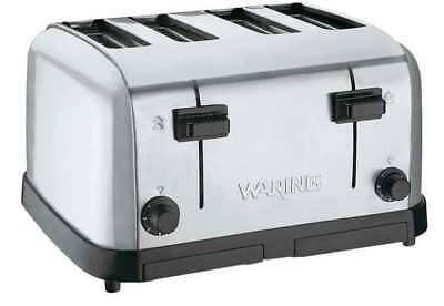 WARING COMMERCIAL WCT708 4-Slice Medium Duty Toaster