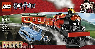 LEGO Harry Potter Hogwart's Express 4841 Luna Lovegood Ron factory sealed NEW!!!