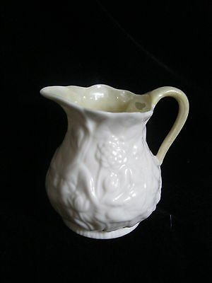 Belleek Fermanagh Ireland Reg No. 0857, Made in Ireland - Creamer 2nd GREEN MARK