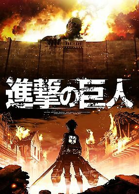 Attack On Titan Japanese Manga Anime POSTER PRINT A4 A3 AOT01 BUY 2 GET 3RD FREE