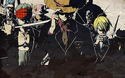 One Piece Japan Animation Cartoon Anime LARGE BIG POSTER PRINT OPJ01 A4 A3 A2