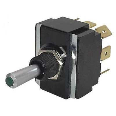 CARLING TECHNOLOGIES LT2561-603-012 Toggle Switch,DPDT,10A @ 250V,QuikConnct