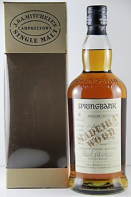 Springbank 11 Year Old Madeira Wood 55.1% 1997 Cask Strength Single Malt Scot...