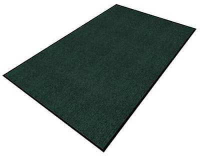 APACHE MILLS 0103912103x5 Carpeted Entrance Mat, Green, 3 x 5 ft.