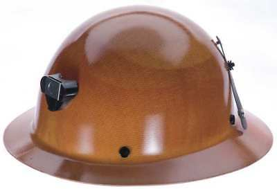 MSA 460389 Hard Hat w/ Lamp Bracket and Cord Holder