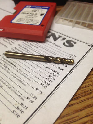 ".1960"" #9 Hsco Cobalt Screw Machine Length Drill"
