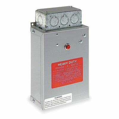 Phase Converter,Static,1-3 HP