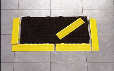 MASTER STOP 96308 Edging, Female, Yellow, 12 In. L