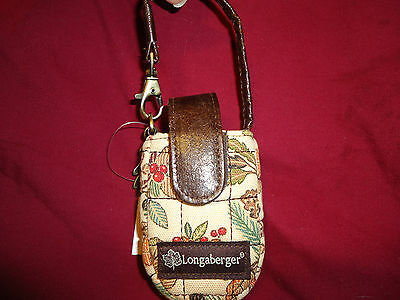 Longaberger Autumn Path Phone Case--new with tags
