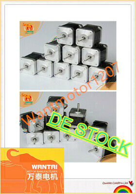 DE Delivery! 20PCS Nema17 Stepper Motor 42BYGHW609 4000g.cm 1.7A 40mm 4-Lead 2Ph
