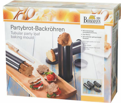Birkmann Partybrot Set 3 Stampi Per Pane Fatto In Casa Tartine Party Forno