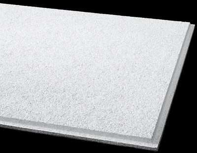 "Armstrong Acoustical Ceiling Tile 24""X24"" Thickness 3/4"", PK12, 584B"