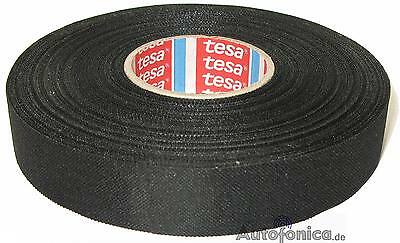 tesa 51608 25m 19mm wiring loom harness adhesive cloth fabric tesa rh picclick co uk Ignition Wire Looms Spark Plug Wire Looms