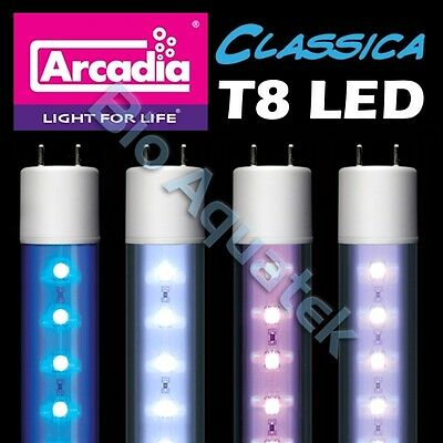 Arcadia Classica T8 LED Aquarium Fish Tank Light Tube Lamp Waterproof IP67
