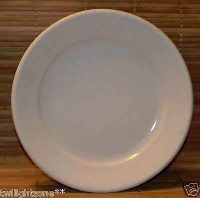 "Chester Hotel China White Salad Plate 7 1/4"" 1920's era Diner Plate"