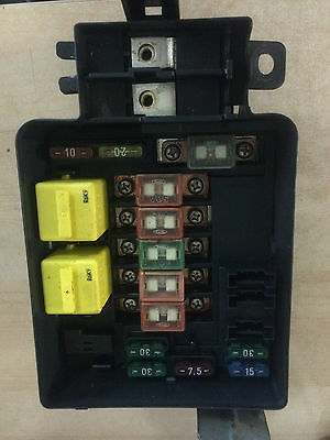 Rover 400 45 Mg Zs Ac Fuse Box Base Assembly Yqe102030 213537112798 (2281)