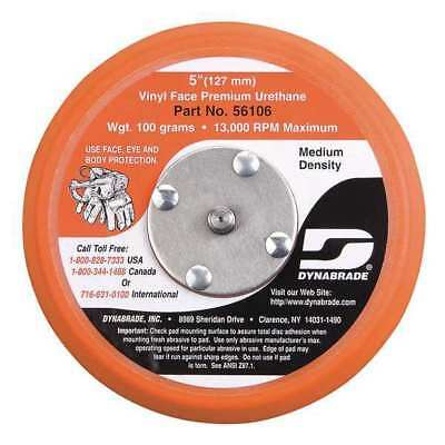DYNABRADE 56106 Disc Backup Pad, 5 In Dia, PSA, 5/16-24 EXT