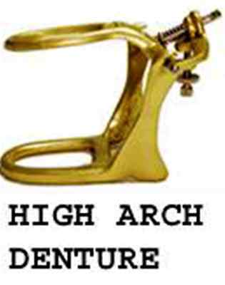 Dental Articulator Brass Denture High Arch 6 Sets Meta Dental # 603 hab