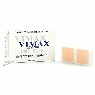 Vimax Patch 1 Month Supply Male Enhancement Patches BIG HARD THICK ENLARGEMENT